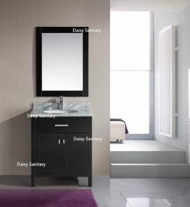 China European Style Modern Vanity Set , Safe And Integrate Modern Single Sink Vanity factory