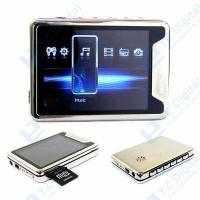 Buy cheap 2.8  Big Screen Metallic Case MP3 MP4 Video Audio PLAYER from Wholesalers