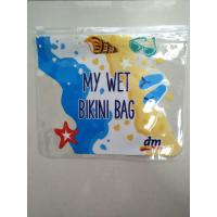 China PVC Travel Document Slider Zipper Ziplock Pouch Packing Bags/Clear PVC Ruler Bag / PVC Pen CASE / PVC Stationery Pouch on sale