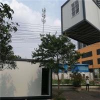 China fast assembly customize 20ft eps sandwich panel container house for 10 workers factory