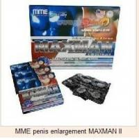 Buy cheap MME penis enlargement MAXMAN II from Wholesalers