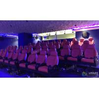 China Elegant Electric Dynamic 7D Cinema System In Entertainment Places factory