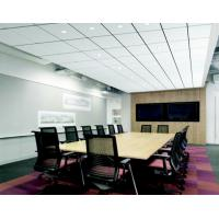 Buy cheap Acoustic Lay In Ceiling Panels For Hall PE Powdercoated 600x1200mm Right Angle from Wholesalers