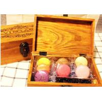 Buy cheap Solid  Handmade Wooden Tea Bag Box Colorful Lacquer With Compartments from Wholesalers
