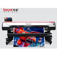 Quality 1.9M Poster Printing Machine , Large Format Inkjet Printer Double 5113 Printhead for sale
