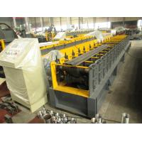 Buy cheap Mitsubishi PLC Metal Roll Forming Machine For Door Frame with Pre Painted steel coil from Wholesalers