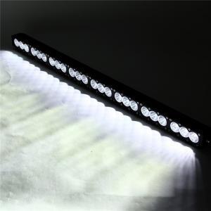 China Super brightness 240W Cree single row Led light bar 4X4 DHCB-L240SDC factory