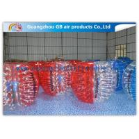 Buy cheap Beautiful Inflatable Bumper Ball Soft / Human Inflatable Bumper Bubble Balls from Wholesalers