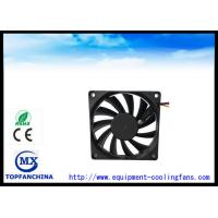 Quality 80 × 80 × 15mm Computer Case CPU Heatsink Fan , Radiator Brushless Cooling  Fan for sale