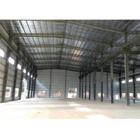 Buy cheap Low-cost pre-made warehouse/warehouse construction materials/light steel warehouse structure in China from Wholesalers