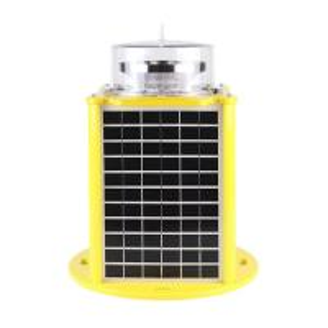 China Low Voltage Solar LED Outdoor Landscape Lighting Aviation Obstruction 12V 24AH Battery factory