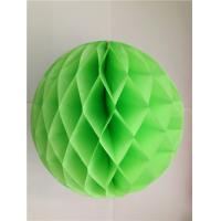 China paper honeycomb tissue paper honeycomb for event & party supplies type Wedding honeycomb factory