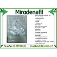 Buy cheap Male Enhance Powder Mirodenafil Treat Erectile Eysfunction Problems CAS 862189-95-5 from Wholesalers