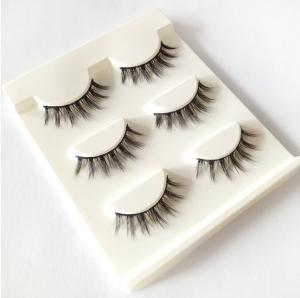 China New 3 pairs natural false eyelashes fake lashes long makeup 3d mink lashes extension eyelash mink eyelashes for beauty on sale