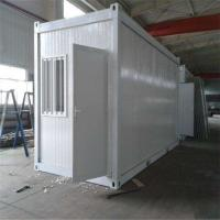 China eps sandwich panel 20ft living container house with a bedroom and bath factory