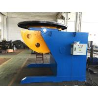 Buy cheap Tilting Rotation Arc Welding Table with Positioner , 2500 mm Table Diameter from wholesalers