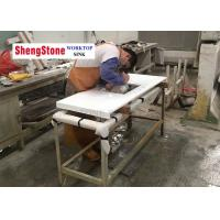 China Super White Nano Crystallized Glass Countertops For Medical Institution Countertop on sale