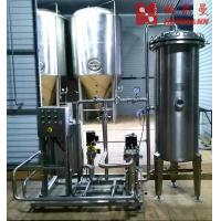 China 300L / H Diatomite Filter Convenient Control Stainless Steel 304 Material factory