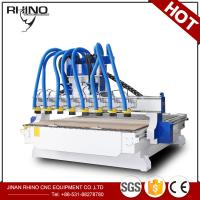 China 8 Heads Woodworking CNC Router Machine 380V 3 Phase Type CE Approval factory