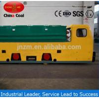Buy cheap China Coal 12 MTs double cabs battery locomotive for underground coal mines from Wholesalers
