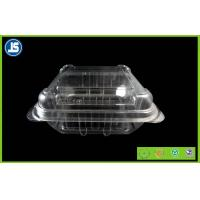Buy cheap Eco Friendly Plastic Food Packaging Trays Clam Shell For Fruit Salad from Wholesalers