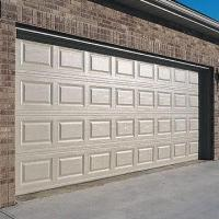 China Garage Door, Made of Steel with Automatic Lighting factory