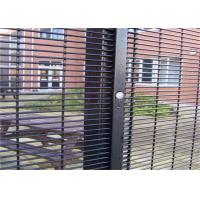 Quality Outdoor Prison Mesh 358 Security Fence / Steel Metal Security Fence Panels for sale
