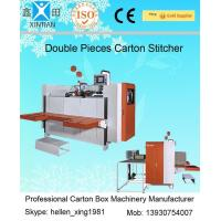 Buy cheap Single / Double Nails Carton Stapler , Carton Stitching Machine with 4 Servo Motors from Wholesalers