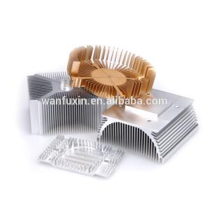 China Led Aluminum Extrusion CNC Heatsink factory