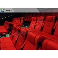 China Film Projector 3D Cinema System With Plastic Cloth Cover Chair 100 People factory