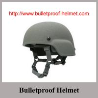 Buy cheap Wholesale Cheap China Grey Color PASGT Bulletproof helmet With Aramid or UHMWPE from Wholesalers