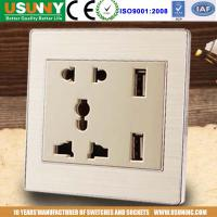 China Ground terminal USB with 2 usb output port suit for mobile phone tablet camera supply for home hotel restaurant et factory