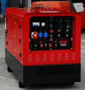 Buy cheap Deutz F3L912 Air CooledEngine Diesel Welder Generator 500amp Duty Cycle 60% IGBT Inverter from Wholesalers