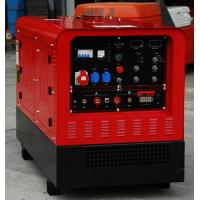 China Lincoln Dual Operation DC Welding Genset Diesel Generator Welder Two Outlets 30 - 500A factory