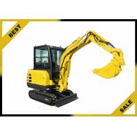 Buy cheap 2.2t Water Cooling System Caterpillar Hydraulic Excavator 2660 Mm Dumping Height from Wholesalers