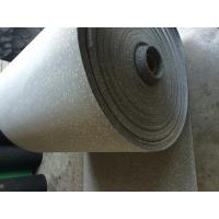 China Comfortable Rubber Sheet Roll Anti Skid Customized / Grey Speckled Color factory