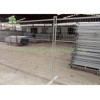 Buy cheap Red Temporary Construction Fence Panels, Easy Assembled Metal Security Fencing from Wholesalers