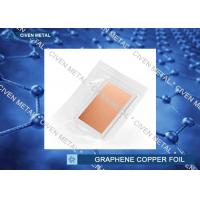 China Single - layer Graphene on Cu Foil 10 mm x 10 mm Pack 4 units From Civen factory