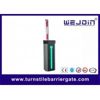 Buy cheap Automatic Car Park Barrier Gate with Protective Rubber and LED Traffic Light Boom from Wholesalers