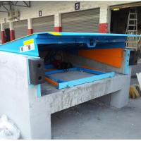 Buy cheap Safety 12 Ton Loading Dock Leveler , Hydraulic Warehouse Truck Dock Equipment from Wholesalers