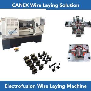 CANEX cnc elektro füzyon tel atma makinası пресс-форма электромуфта