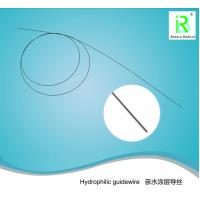 China Nitinol Core Hydrophilic Guidewire Smooth Urology Disposable Black 0.032 Inch factory