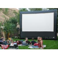 China Portable Inflatable Movie Screen , Customized Size Inflatable Cinema Screen factory