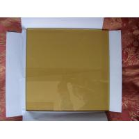 China 7mm 10mm Bronze Flat Float Glass Sinoy , Decorative Reflective Floated Glass factory
