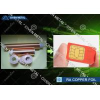 Buy cheap 18u * 520mm Soft  Annealed Rolled Copper Foil Roll Metal Model No. MGP-TR022015 from Wholesalers
