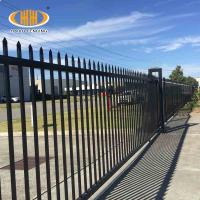 China DIY Security Backyard Steel Fence 5 ft Height Aluminum Fence Panel on sale
