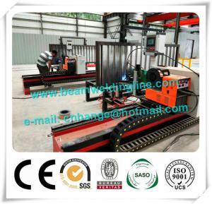 China Automatic H Beam Welding Line , Corrugated Web Beam Welding Machine factory