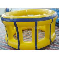 China Adults Inflatable Water Games Floating Wheel Roller For Entertainment factory