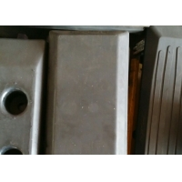 China 260bk Rubber Track Pads / Bolt - On Construction Steel Excavator Tracks factory