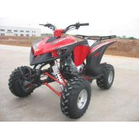 Red Automatic 200CC ATV , One Seat Electric Start Quad Bike